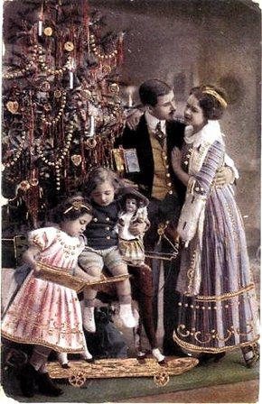 История празднования Рождества в России
