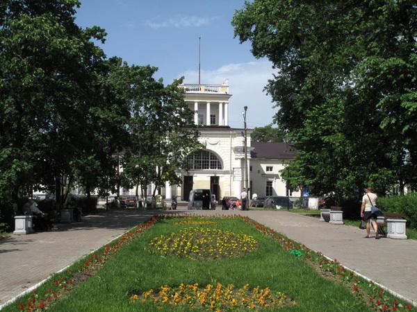 Ограничение движения в городе Луга